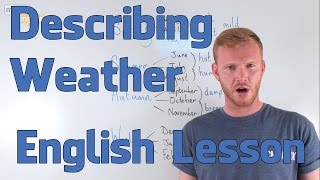 Describing Weather - English Vocabulary Lesson (Pre-Intermediate)