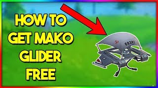 How to Get MAKO GLIDER in Fortnite! (WORKS IN-GAME)