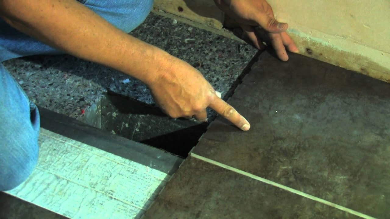 Snapstone porcelain tile installation measuring the cut youtube dailygadgetfo Image collections