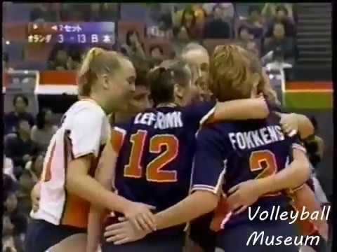 【Women Volleyball】【1998 World Championship】【Japan vs Holland】