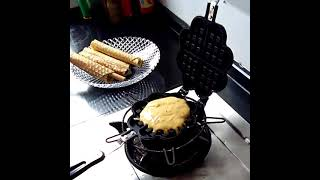 와플 기계 샌드위치팬 메이커 크로플 홈베이킹 브런치팬