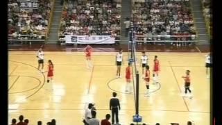 2004奧運金牌匯演中國女排與香港男排表演賽