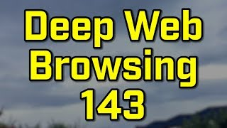 SPOOKY FACES IN THE SKY!?! - Deep Web Browsing 143