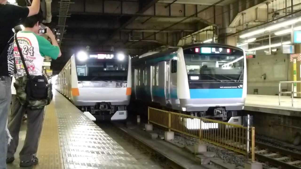 フルHD】JR東北線E233系(快速む...