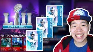 Massive Super Bowl Legendary Pack Opening - Insane 99 CB