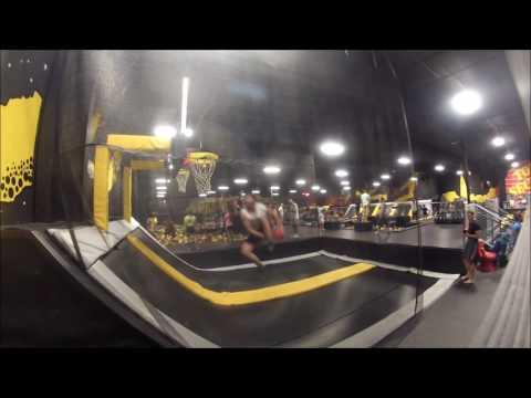 Area 51 trampoline dunks