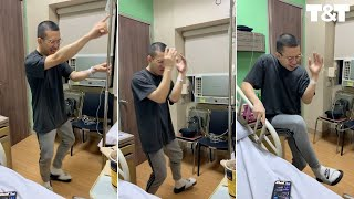Professional Dancer Goes Viral Dancing Into First Chemo Treatment