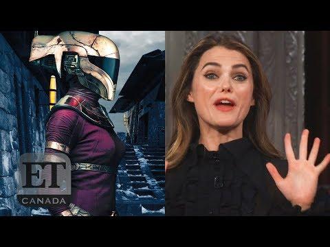Keri Russell Talks Star Wars Character Youtube