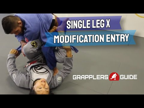 Emily Kwok - Single Leg X-Guard Modification Entry When Both Grapplers Are Seated