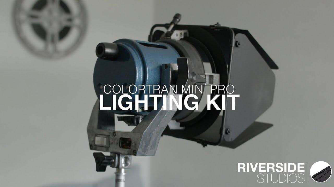 Cheap Lighting Kit - Colortran Mini Pro Review - YouTube