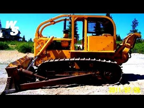Removing Giant Dozer Transmission TD20
