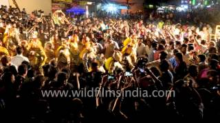 Repeat youtube video Pulikali - Unusual festival in Kerala