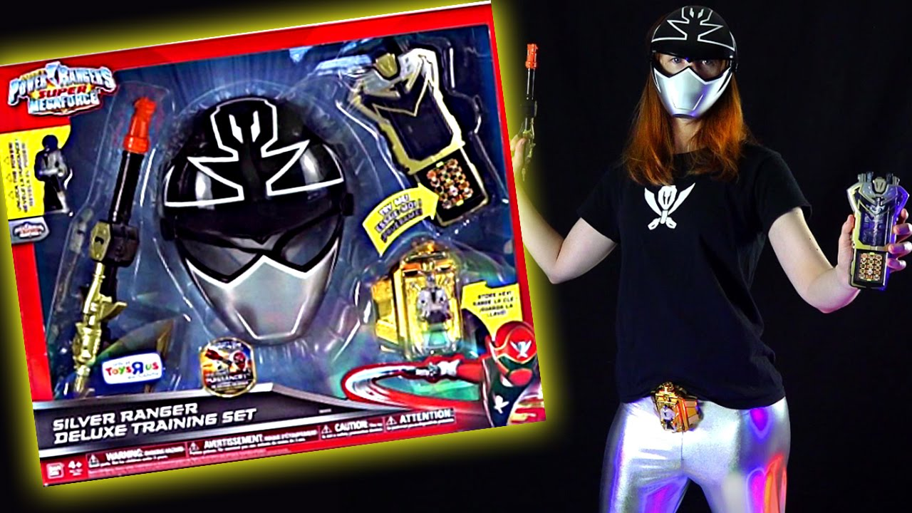 silver ranger training set review power rangers super megaforce youtube silver ranger training set review power rangers super megaforce