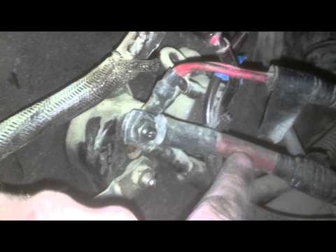 T600 ECM Wiring From Battery Box