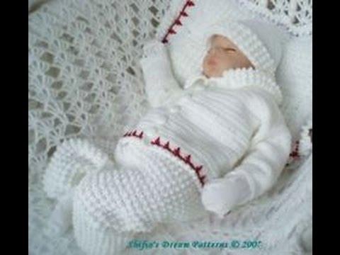New Crochet Baby Boy Layette Youtube