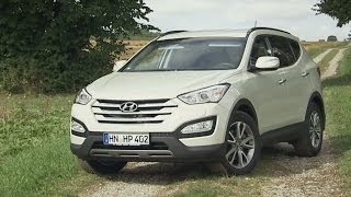 Hyundai Santa Fe im Test Autotest 2013 ADAC