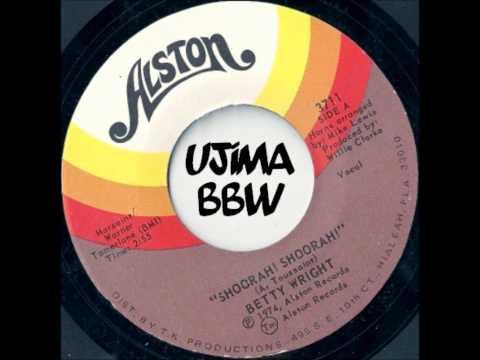 BETTY WRIGHT   Shoorah Shoorah   ALSTON RECORDS   1974