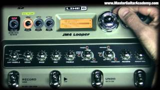 line 6 JM-4 Looper Time Stretching & Tempo Change