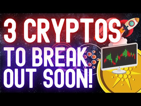 Cryptocurrencies Worth Buying? These 3 Crypto Coins May Break Out Soon! Technical Analysis!