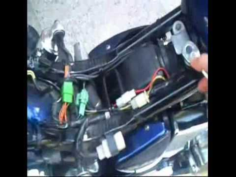 Main Disconnect Wiring Diagram How To Remove The Fuel Tank From A Suzuki Boulevard S40