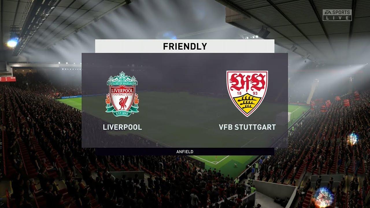 Liverpool Vs Vfb Stuttgart Club Friendlies 22 08 2020 Fifa 20 Youtube