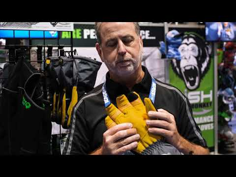 ICAST 2019 | Fish Monkey Yeti Ice Fishing Gloves
