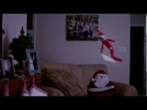 The Elf On The Shelf Caught Flying And Getting Into