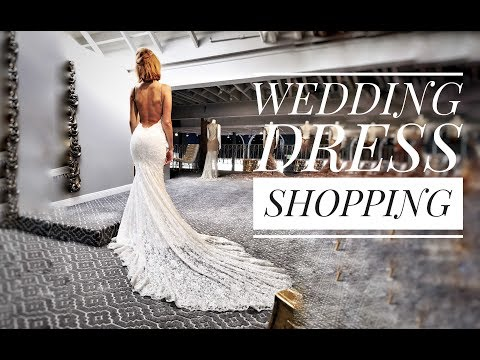 Wedding Dress Shopping and Try on