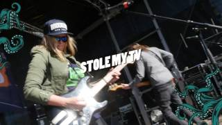 Somebody Stole My TV at Mans World Festival Wistedt - Yvi Wylde