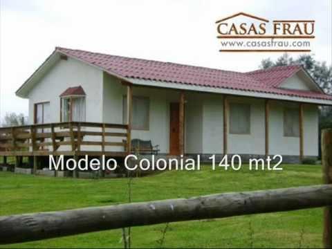 Casas prefabricadas frau ltda catalogo youtube - Catalogo casas prefabricadas ...
