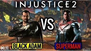 INJUSTICE 2 - BLACK ADAM VS SUPERMAN ONLINE!