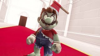 Super Mario Odyssey - Zombie Outfit Gameplay + Ending (DLC Showcase)
