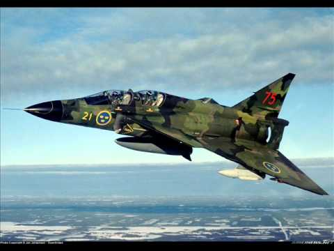 Fighter Aircraft of Sweden - JAS-39,J-37,J-35