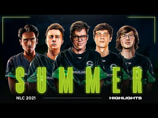 Team Singularity League of Legends | NLC Summer 2021 Highlights