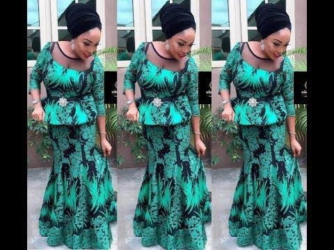 Latest Nigerian Fashion Styles : Aso Ebi And Ankara Styles