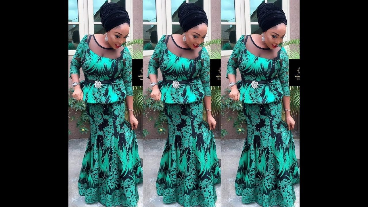 Latest Nigerian Fashion Styles Aso Ebi And Ankara Styles Youtube