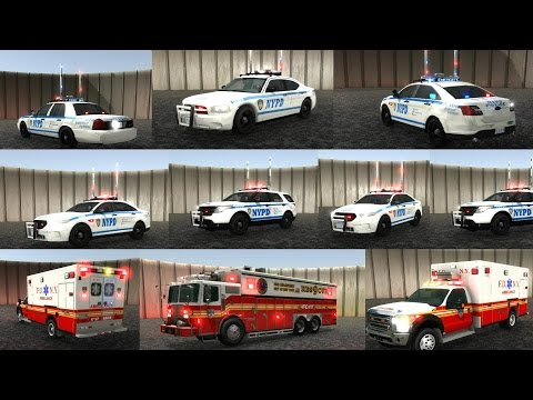 EmergeNYC Update 0.0.4 New Rescue, Ambulance, Working Hirisers, Time & Weather Control & Train Horns
