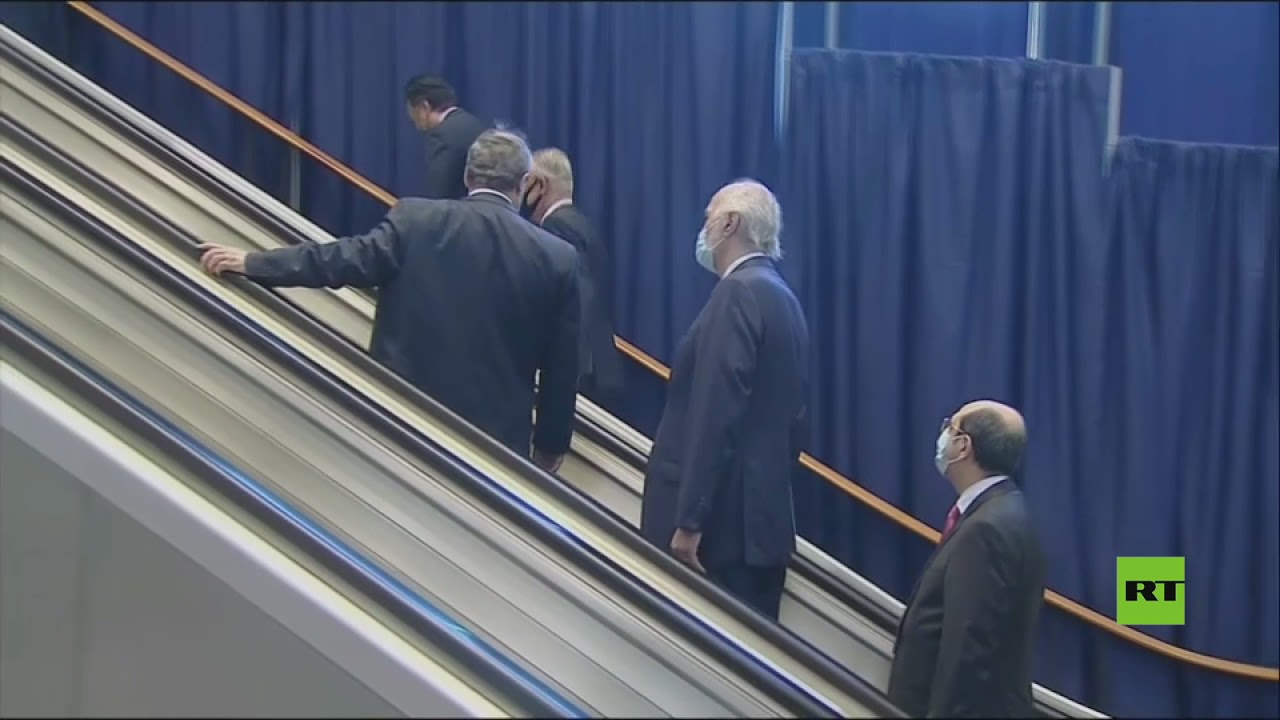 وزير خارجية سوريا فيصل المقداد يصل مبنى الأمم المتحدة للمشاركة في جلسات الجمعية العامة