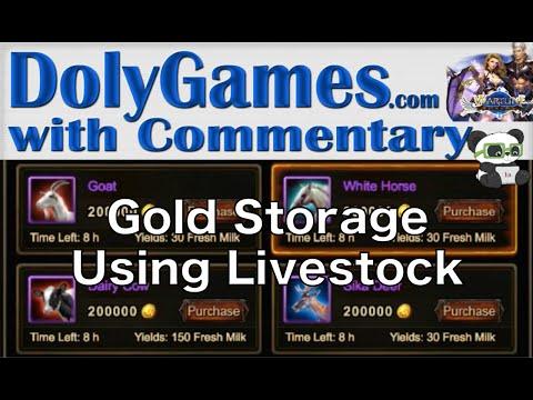 ➜ Wartune Guide - Store Gold Using Livestock