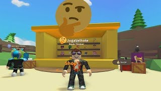 ROBLOX: OLD MAN AND THE EMOJI OF THOUGHT! -Play Old man