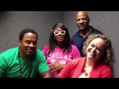 Stormy of V101 & WDIA interview with Lamman Rucker