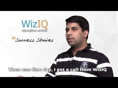 WizIQ Success Stories - An Online Teacher Who Does More Than Teaching