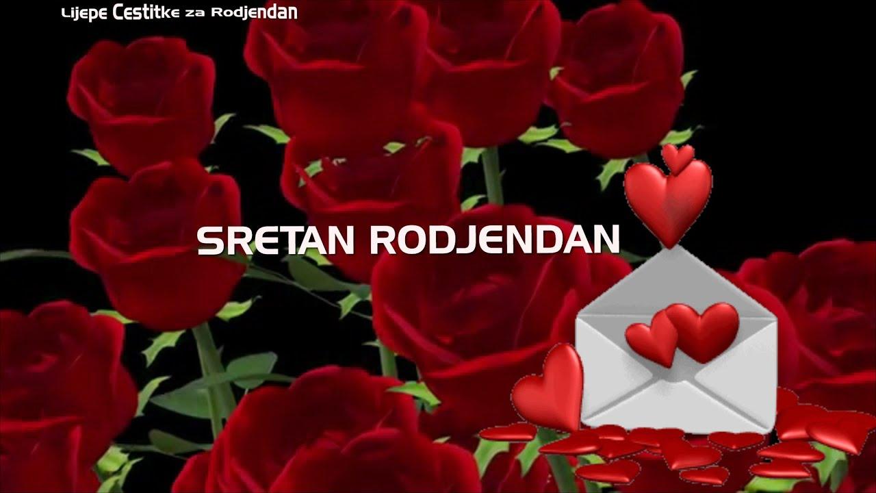 video čestitke za rođendan Čestitka za rođendan u buketu ruža•   YouTube video čestitke za rođendan