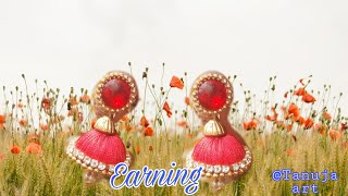 How to make earning.||  home made jewelry..beautifully jewelry