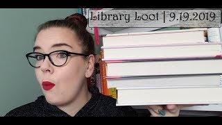 Library Loot | 9.19.2019