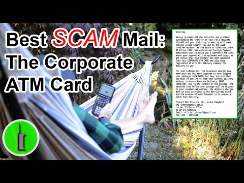 Scam Email Hall Of Fame: The Benin Corporate ATM Card - The Hoax Hotel