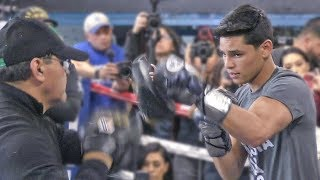 Ryan Garcia (TRAINING CAMP) - FULL MEDIA WORKOUT in Los Angeles | vs. Francisco Fonseca