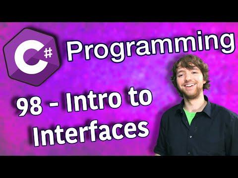 C# Programming Tutorial 98 - Intro to Interfaces thumbnail