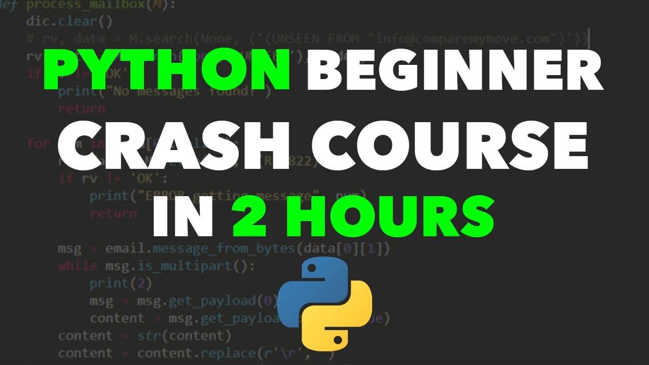 Python Full Beginner Course - Learn Python For Beginners
