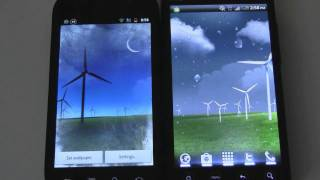 Weather animations for Galaxy S II Live Wallpapers (on HTC EVO 4G, Nexus S)